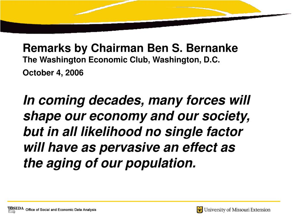 Remarks by Chairman Ben S. Bernanke