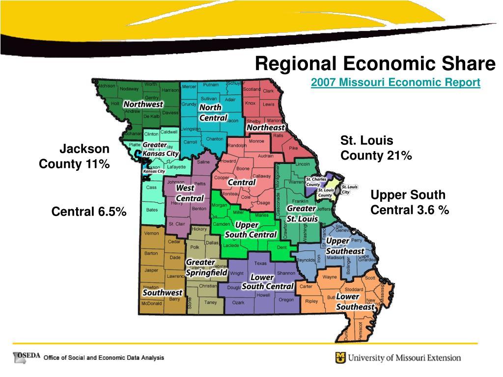Regional Economic Share