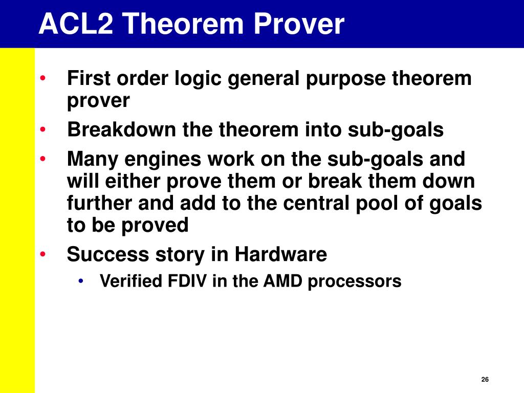 ACL2 Theorem Prover