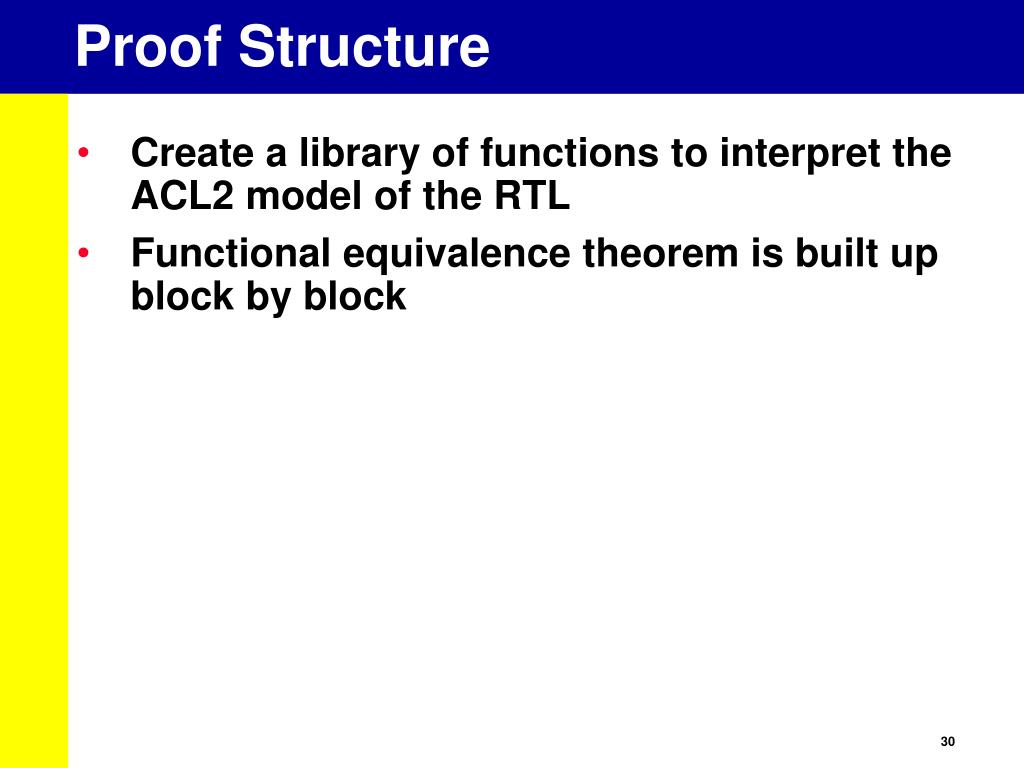Proof Structure