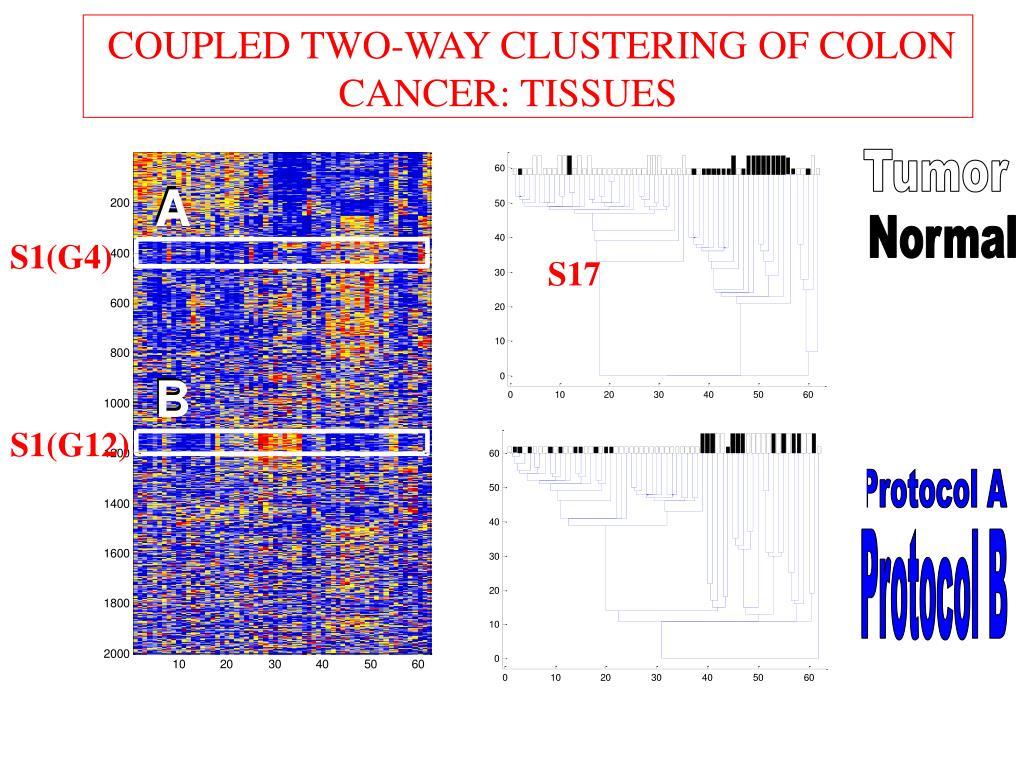 CTWC colon cancer - tissues