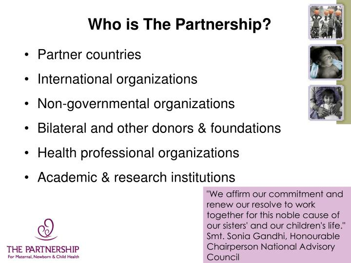 Who is The Partnership?