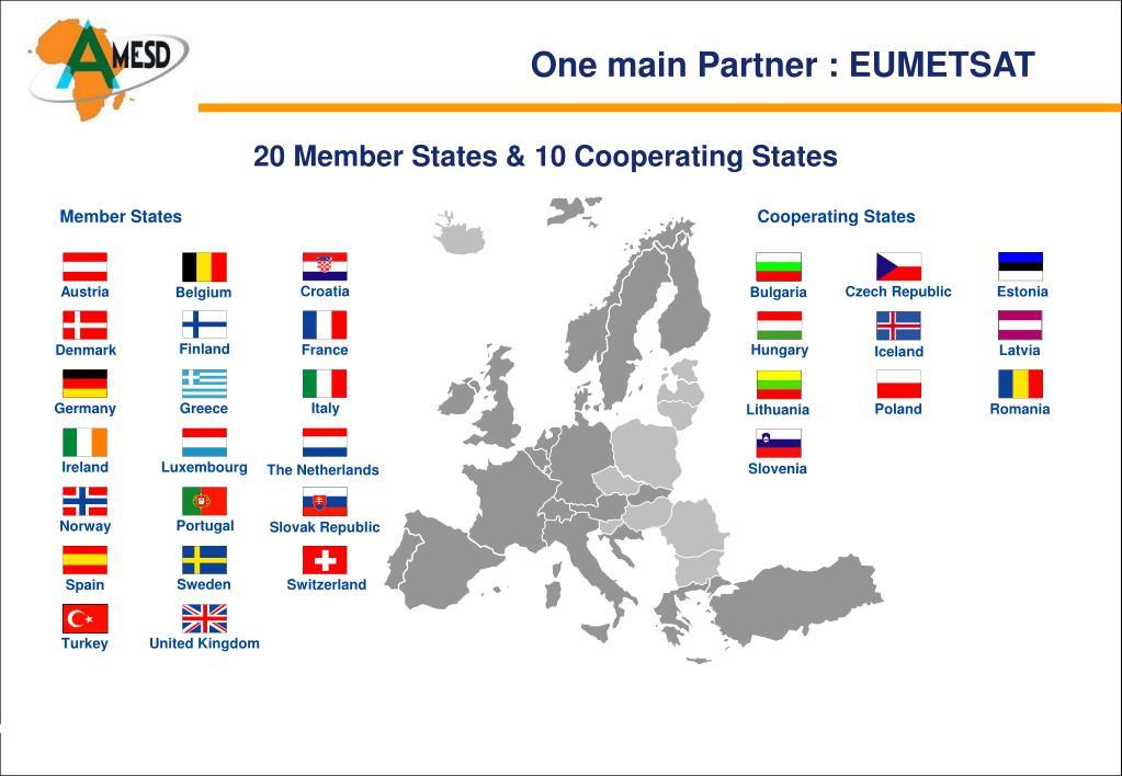 20 Member States & 10 Cooperating States