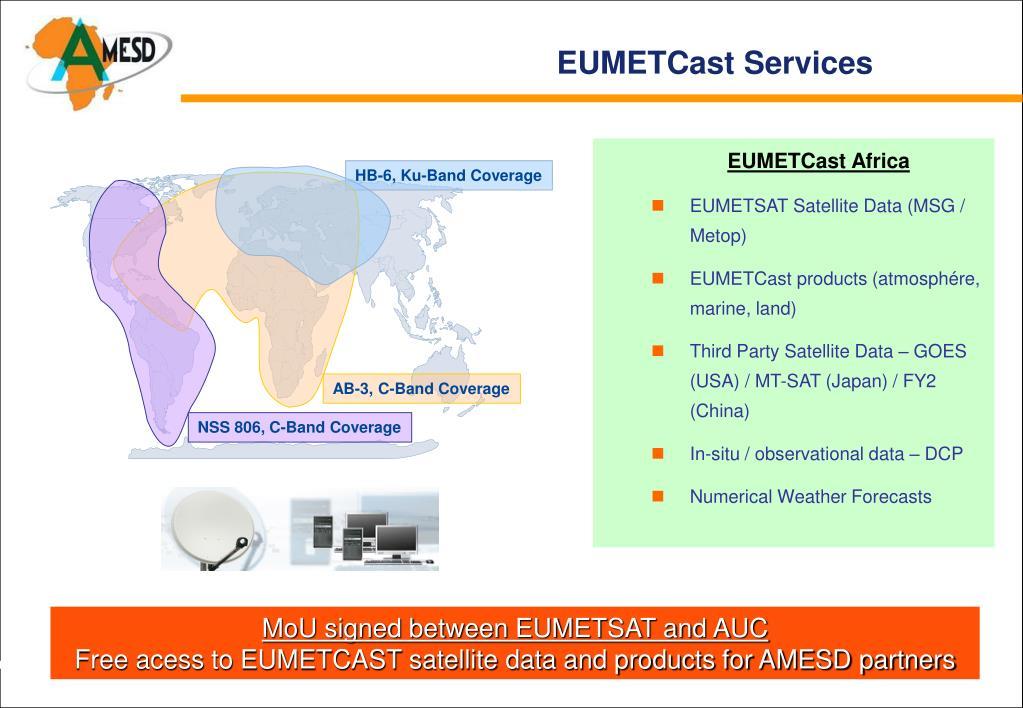 EUMETCast Services