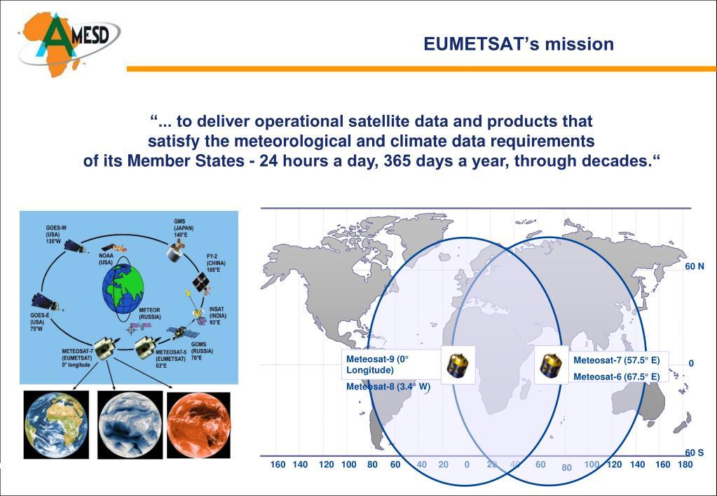 EUMETSAT's mission