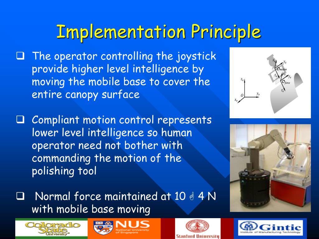 Implementation Principle