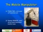 the mobile manipulator