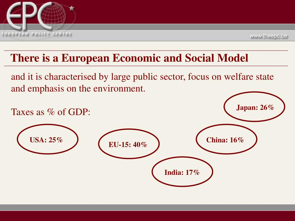 There is a European Economic and Social Model
