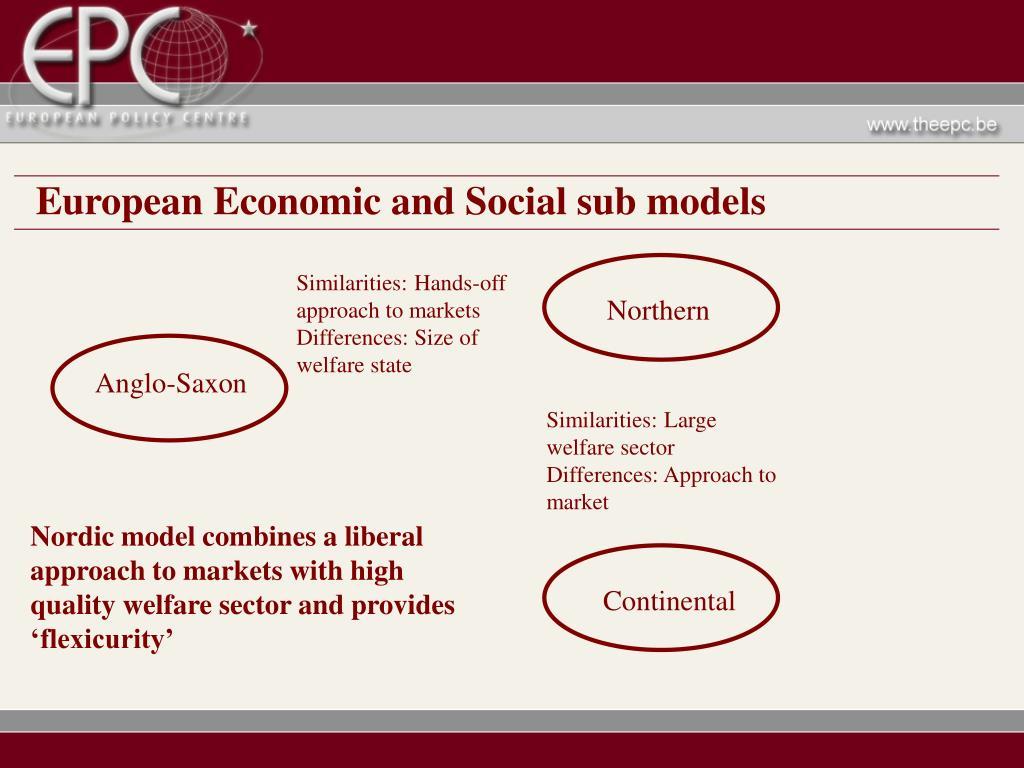 European Economic and Social sub models