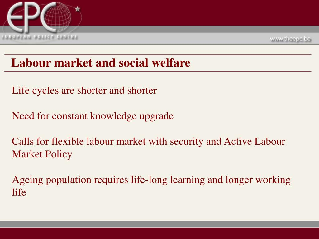 Labour market and social welfare