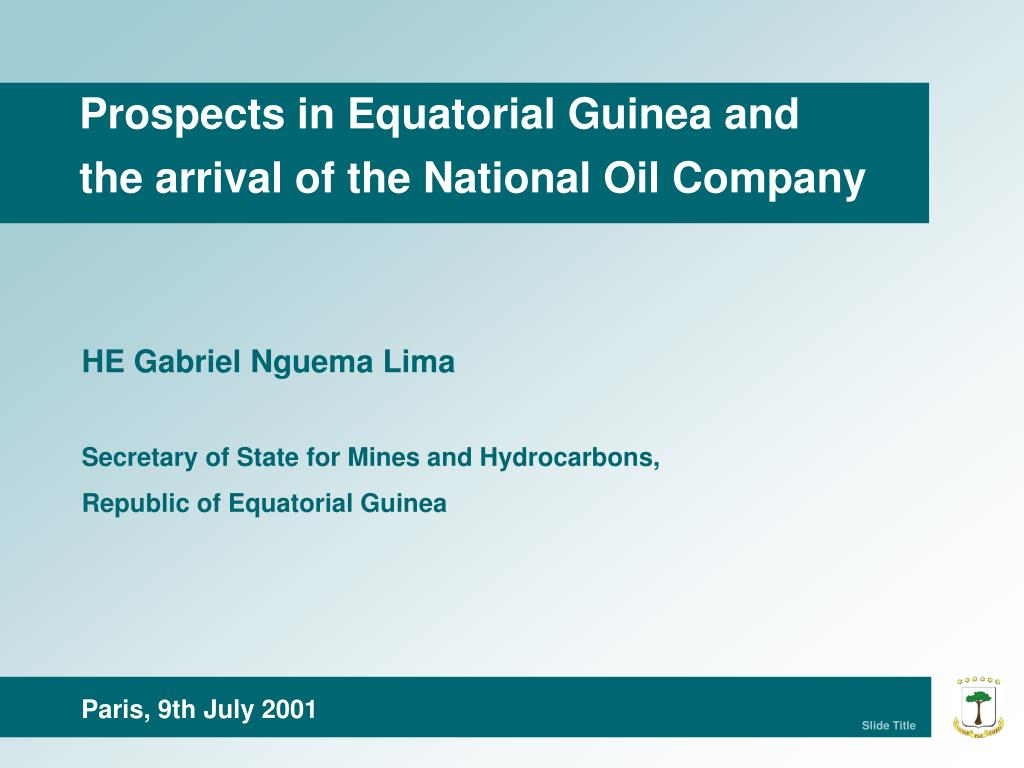 Prospects in Equatorial Guinea and