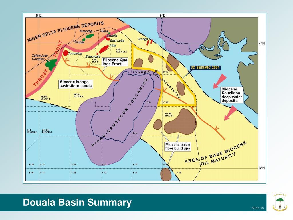 Douala Basin Summary