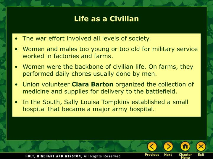 The war effort involved all levels of society.
