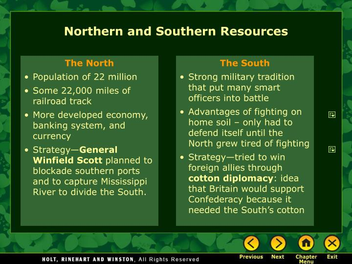 Northern and Southern Resources