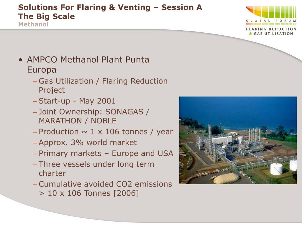 AMPCO Methanol Plant Punta Europa