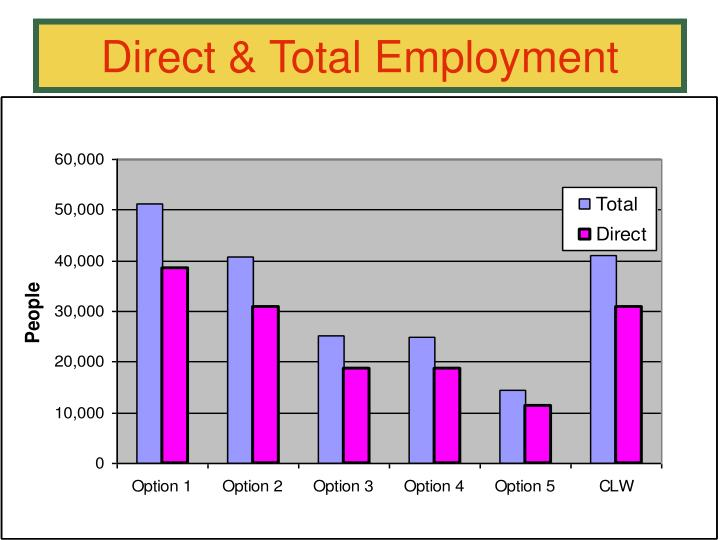 Direct & Total Employment