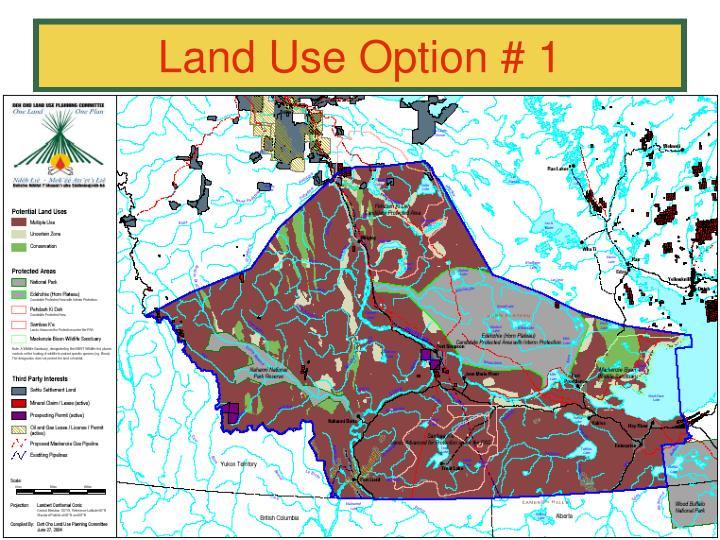 Land Use Option # 1