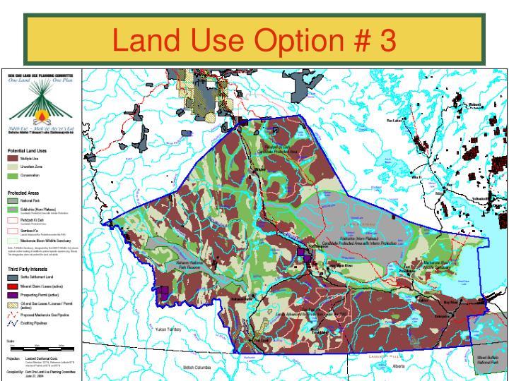 Land Use Option # 3