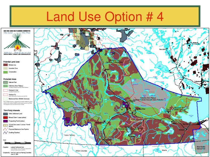 Land Use Option # 4