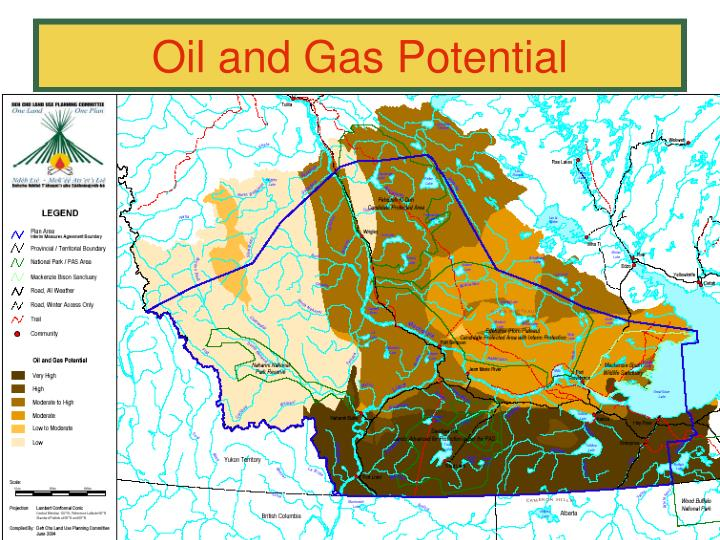 Oil and Gas Potential