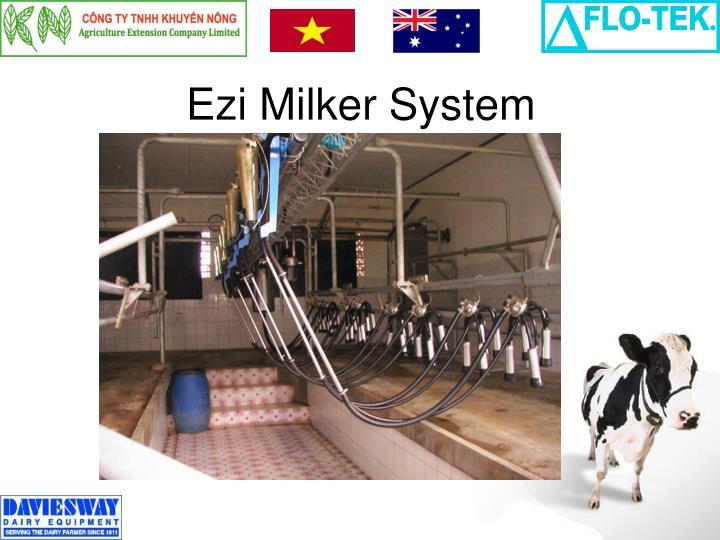 Ezi Milker System
