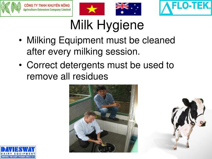 Milk Hygiene