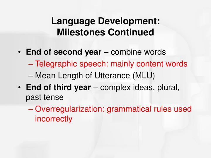 Language Development: