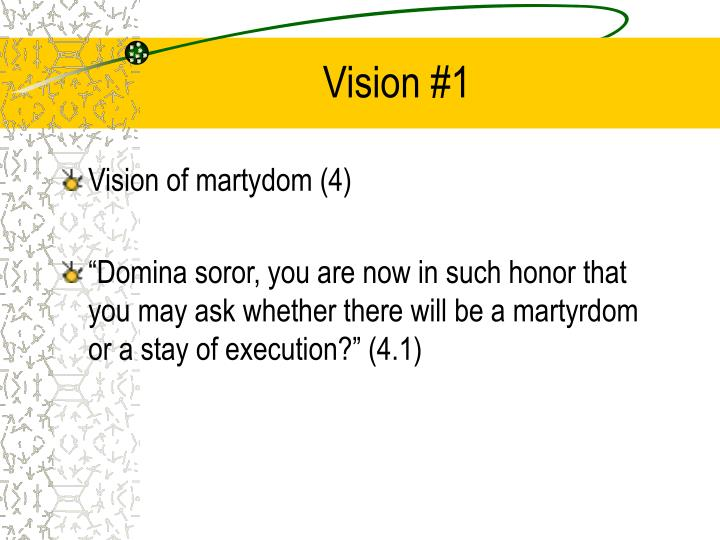 Vision #1