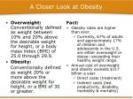 a closer look at obesity2