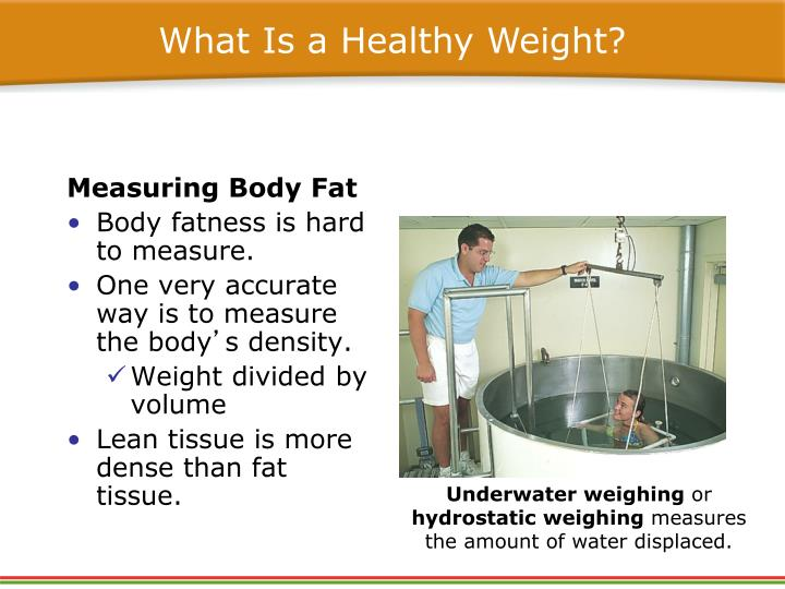 What Is a Healthy Weight?