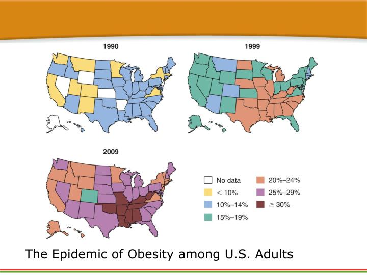 The Epidemic of Obesity among U.S. Adults