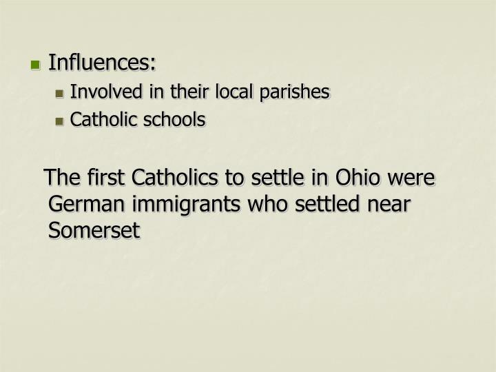 Influences: