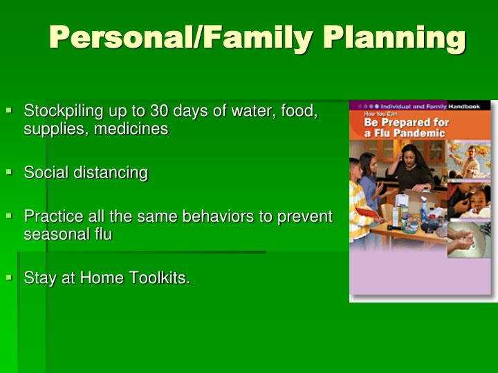 Personal/Family Planning
