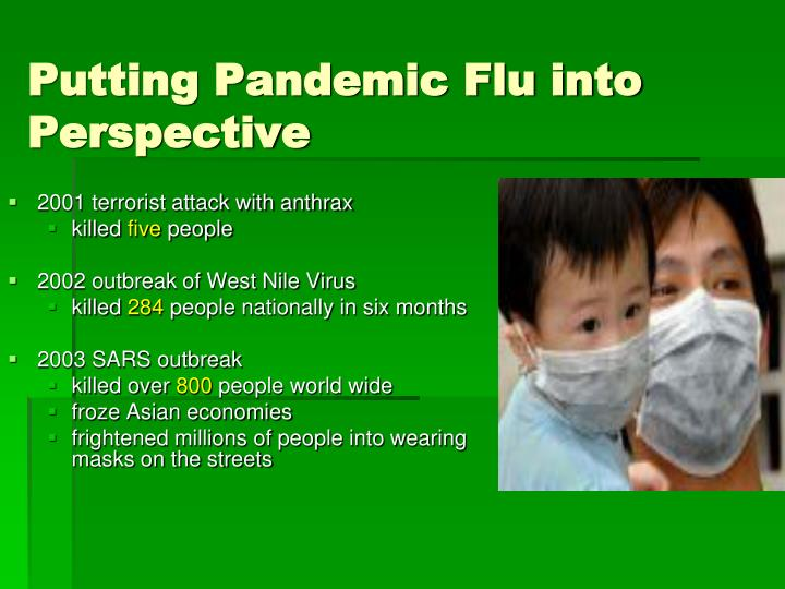 Putting Pandemic Flu into Perspective