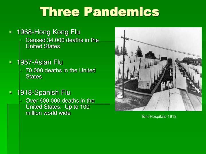 Three Pandemics