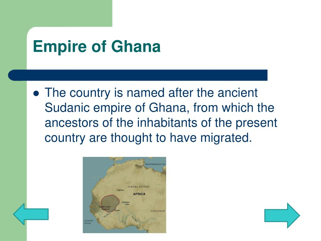 Empire of Ghana