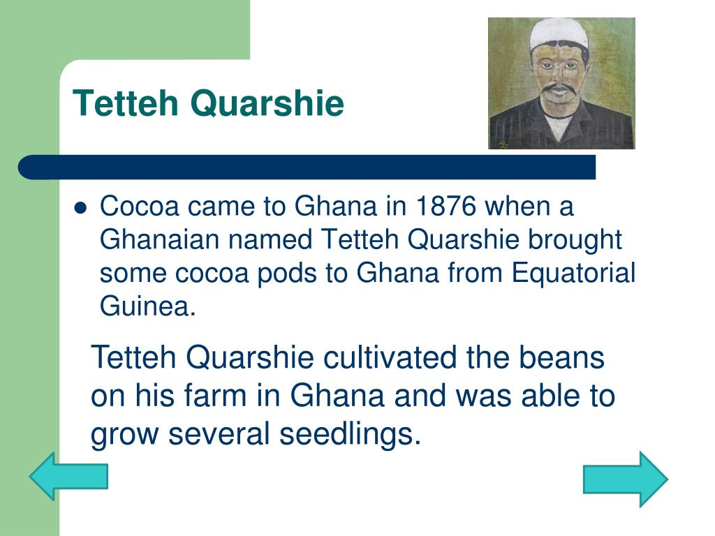 Tetteh Quarshie