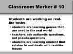 classroom marker 10
