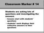classroom marker 14