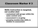 classroom marker 3