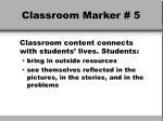 classroom marker 5