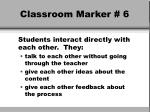 classroom marker 6