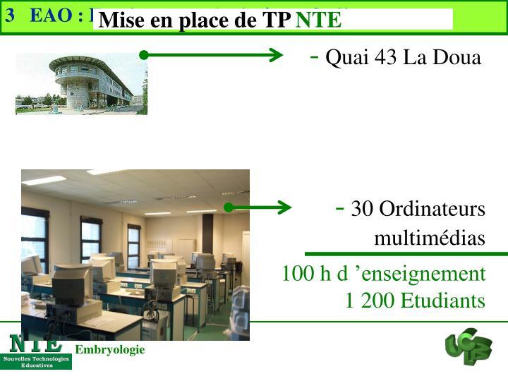 3   EAO : Enseignement Assisté par Ordinateur