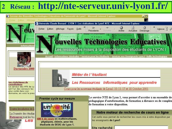 http://nte-serveur.univ-lyon1.fr/