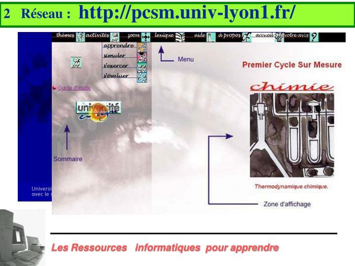 http://pcsm.univ-lyon1.fr/