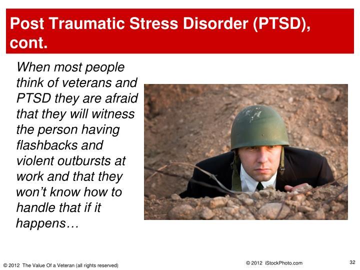 persuasive speech on veterans and ptsd