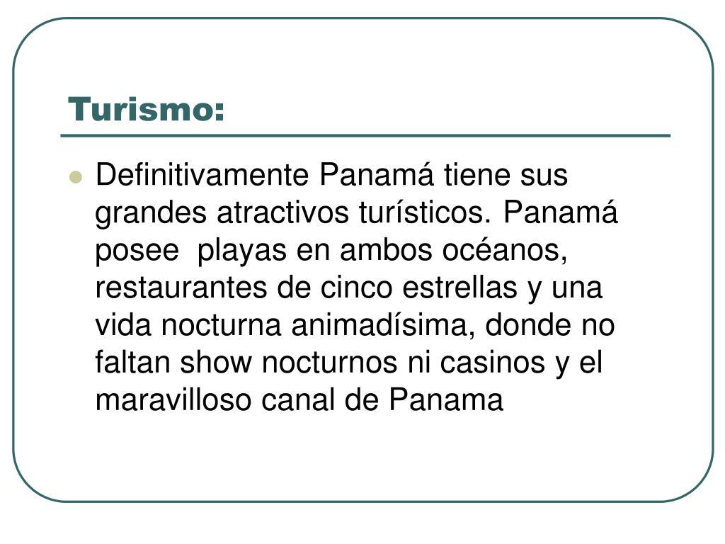 Turismo: