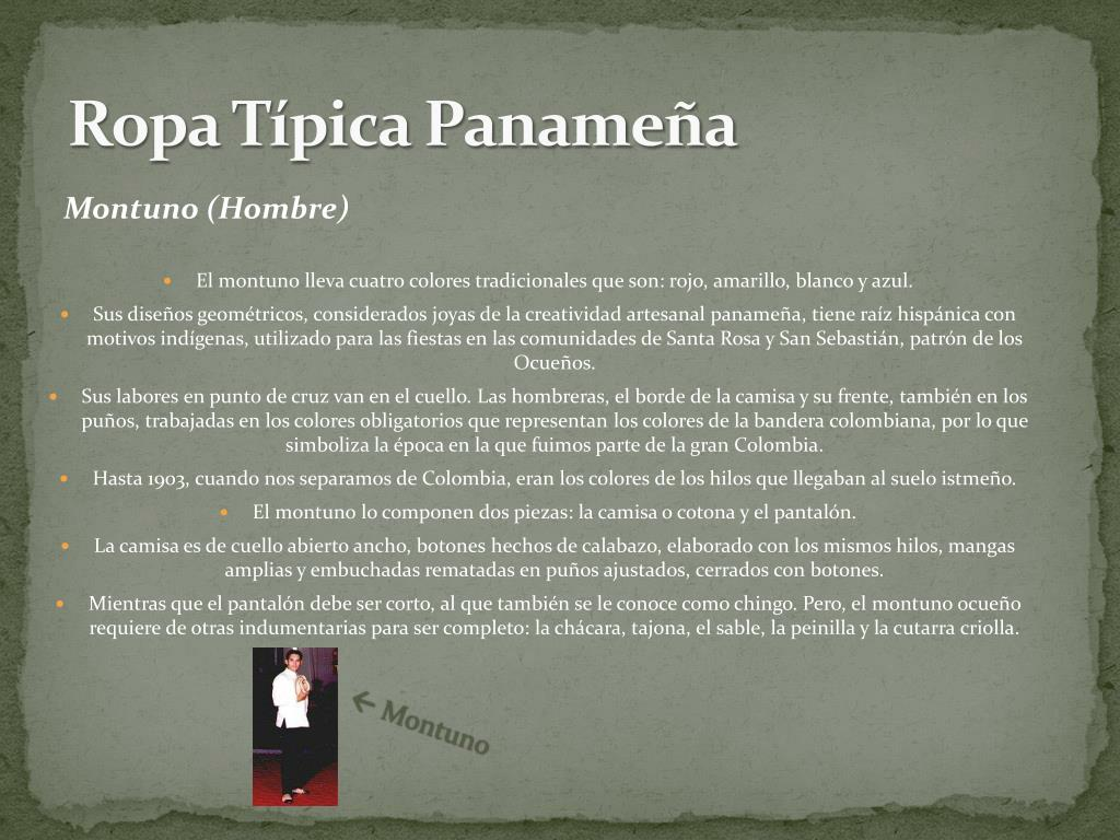 Ropa Típica Panameña