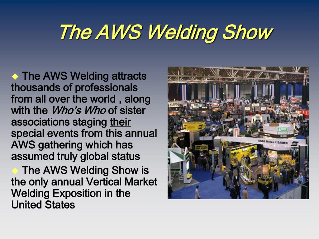 The AWS Welding Show