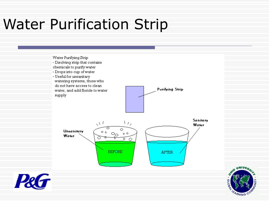 Water Purification Strip
